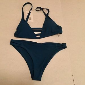 NEW Zaful Teal Bikini 🌴